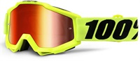Очила Accuri Fluo Yellow Mirror Red Lens