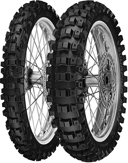Задна гума Scorpion MX Mid Hard MX32 120/80-19 NHS 63M